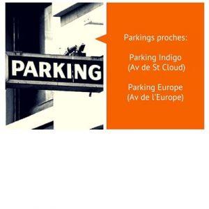 parking proche de cabinet cals à versailles